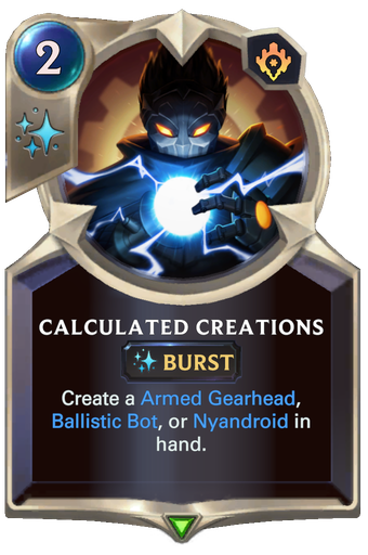 Calculated Creations Card Image