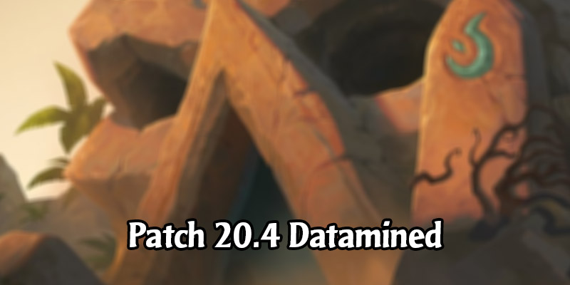 Hearthstone Patch 20.4 Datamined Mega-Post - New & Returning Card Backs, Golden Cards, New Achievements, Wild Packs, and More!
