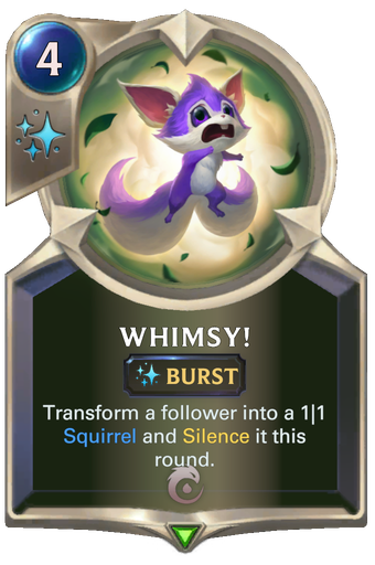 Whimsy! Card Image