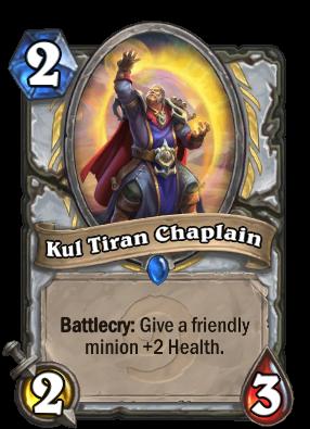 Kul Tiran Chaplain Card Image