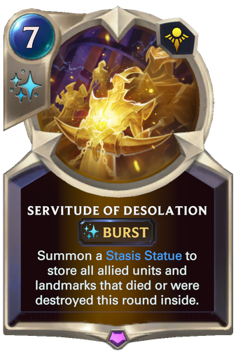 Servitude of Desolation Card Image