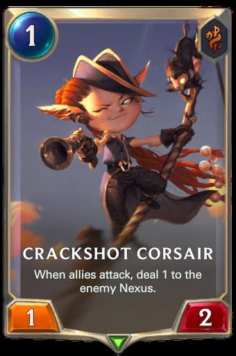 Crackshot Corsair Card Image
