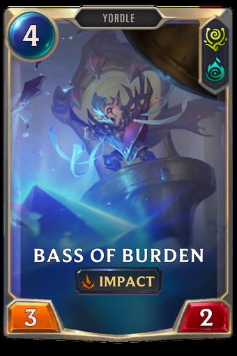 Bass of Burden Card Image