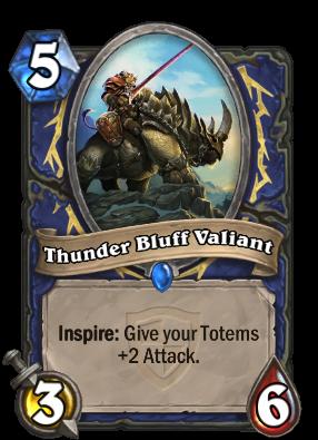 Thunder Bluff Valiant Card Image