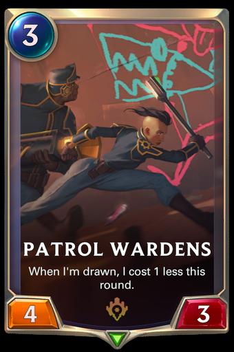 Patrol Wardens Card Image