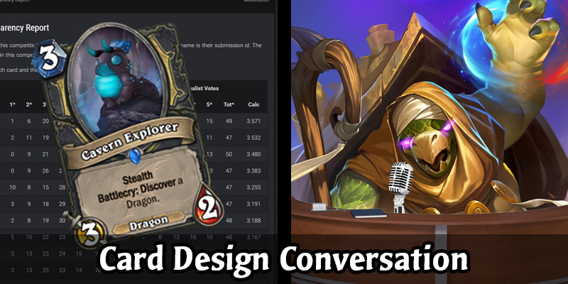 Card Design Conversation - The First Winner