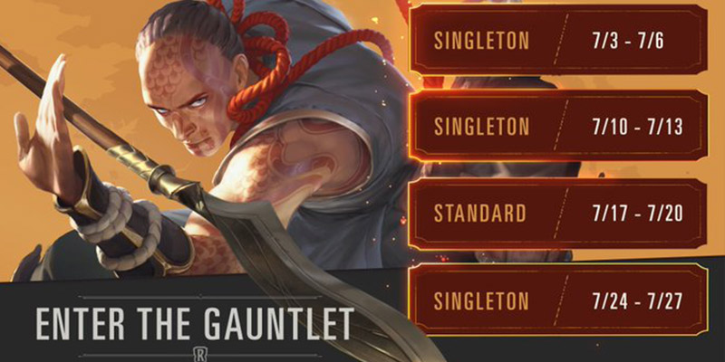 All the Upcoming Runeterra Gauntlet Events for July