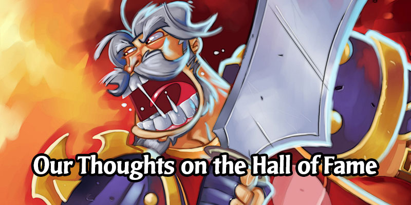Our Thoughts on Today's Hall of Fame Rotation - Year of the Phoenix