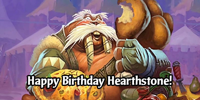 The Hearthstone 6th Birthday Celebration has Begun! Login for the Year of the Dragon Card Back, Free Packs, and Great Quests