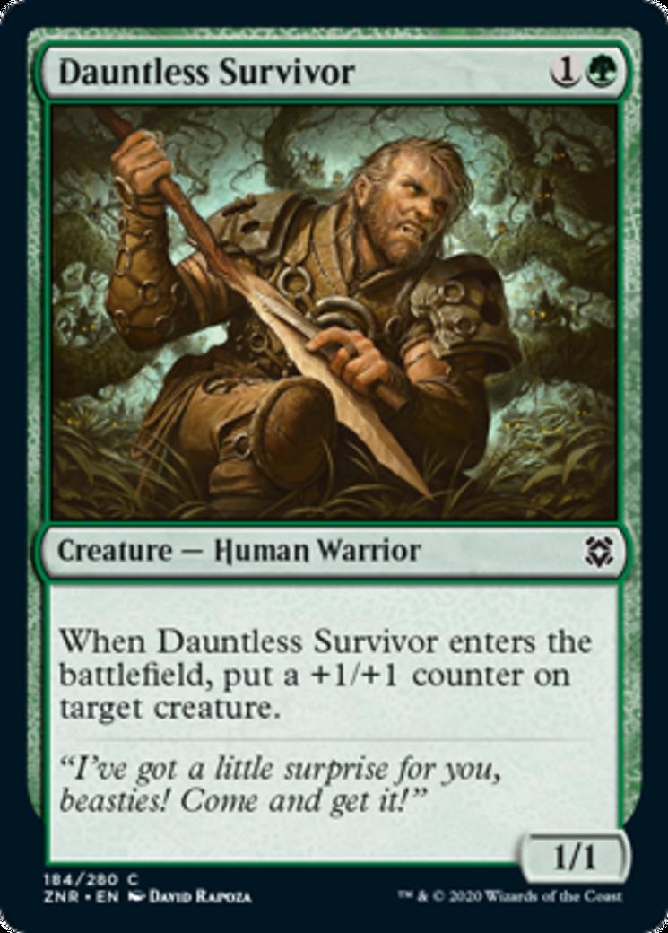 Dauntless Survivor Card Image