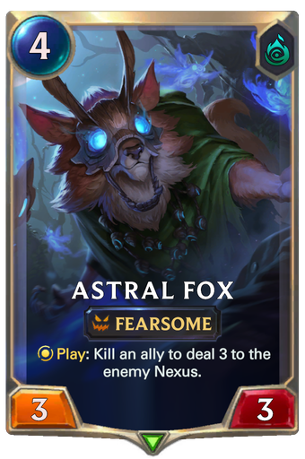 Astral Fox Card Image