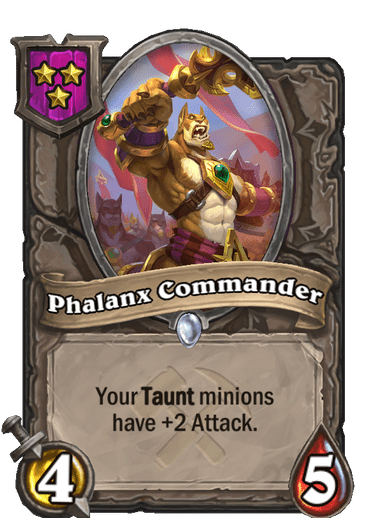 Phalanx Commander Card Image