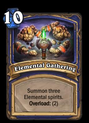 Elemental Gathering Card Image