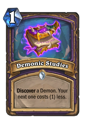 Demonic Studies Card Image