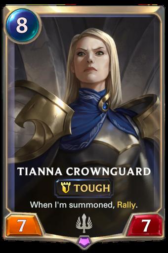Tianna Crownguard Card Image