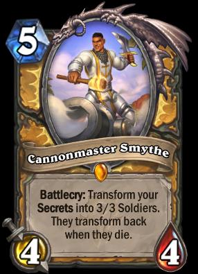 Cannonmaster Smythe Card Image