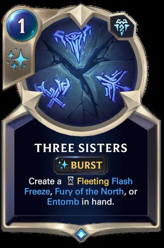 Three Sisters Card Image