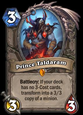 Prince Taldaram Card Image