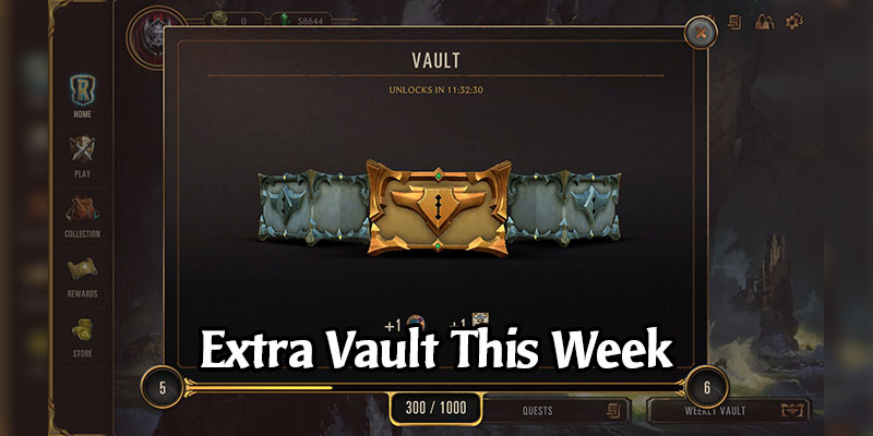 Get An Extra Vault From Legends of Runeterra This Week