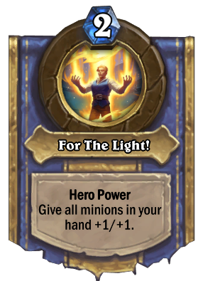For The Light! Card Image