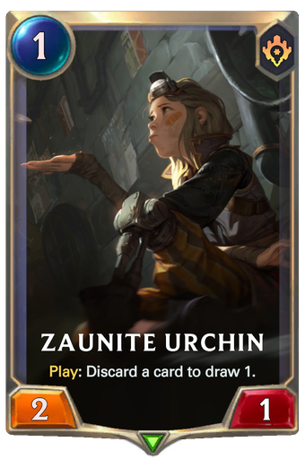 Zaunite Urchin Card Image