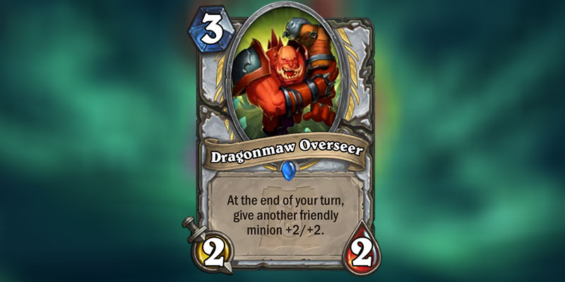 Dragonmaw Overseer is a new Priest Card Revealed for Hearthstone's Ashes of Outland Expansion