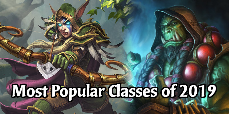 Hearthstone's Most Popular Classes in 2019 - Are We Even Surprised?
