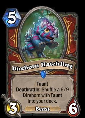 Direhorn Hatchling Card Image