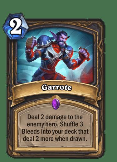 Garrote Card Image