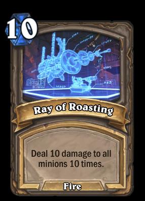 Ray of Roasting Card Image