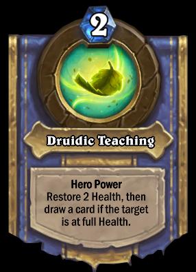 Druidic Teaching Card Image