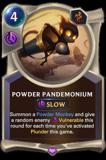 Powder Pandemonium Card Image