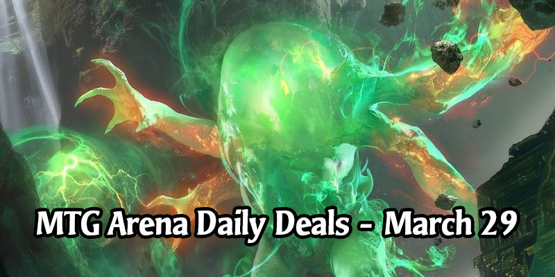 Daily Store Deals in MTG Arena for March 29, 2020 - 75% Off 5 M20 Multicolored Mythic Creatures