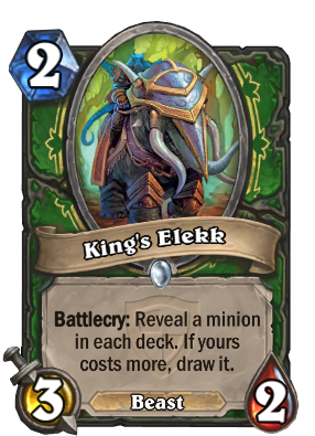 King's Elekk Card Image