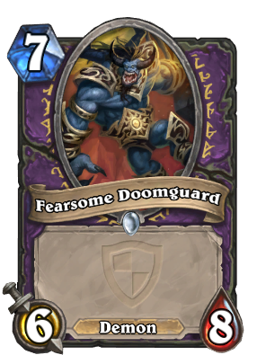 Fearsome Doomguard Card Image