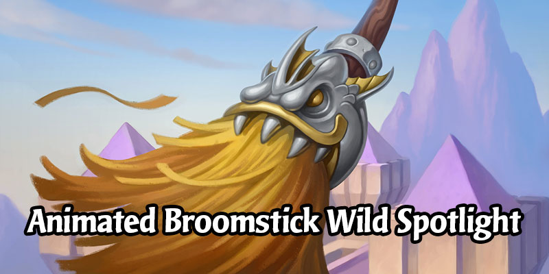 Sweep Your Opponents Aside With These Wild Animated Broomstick Decks