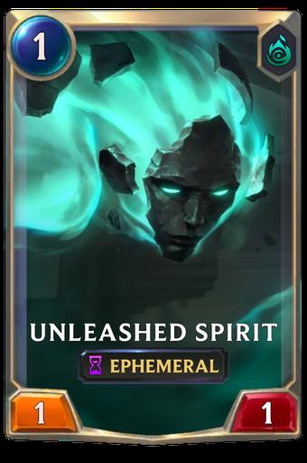 Unleashed Spirit Card Image