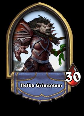Helka Grimtotem Card Image