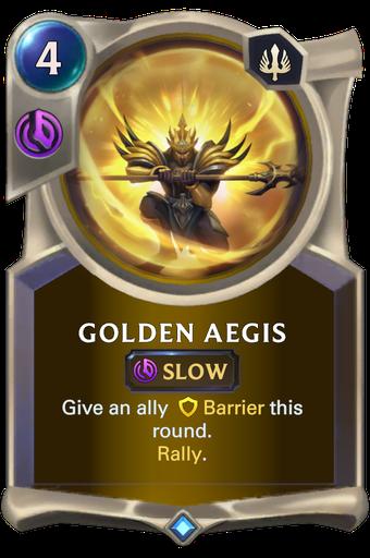 Golden Aegis Card Image