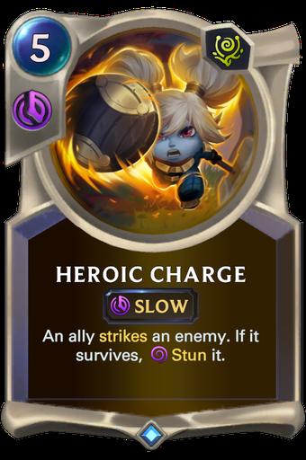 Heroic Charge Card Image