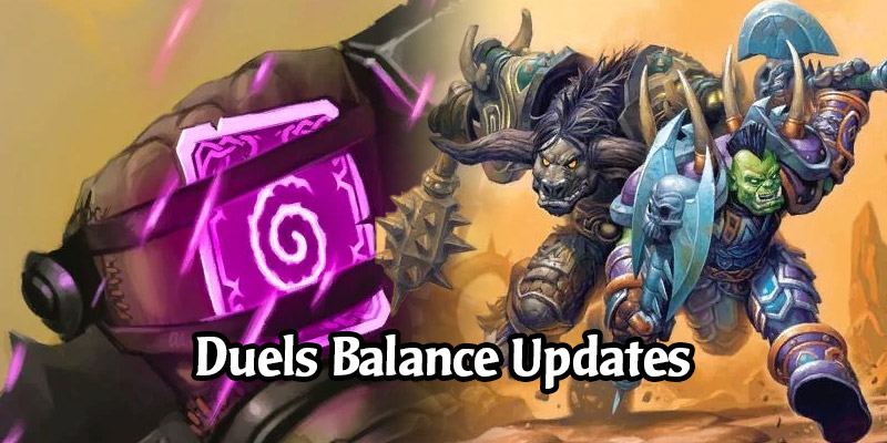 Hearthstone's Duels Mode is Getting Balance Changes on April 13's Patch 20.0.2