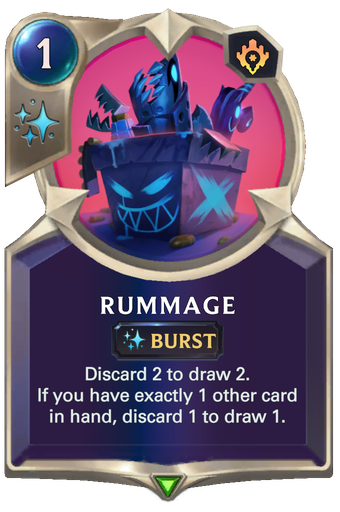 Rummage Card Image