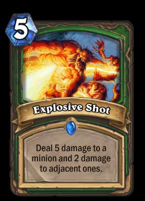 Explosive Shot Card Image