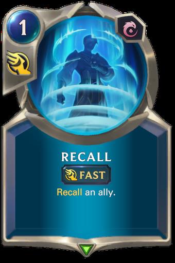 Recall Card Image