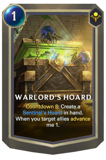 Warlord's Hoard Card Image