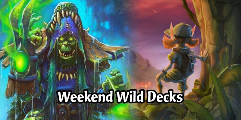 Weekend Wild Hearthstone Decks - Anti-Secret Mage Shaman, OTK Mage, Menagerie Quest Warrior, & More
