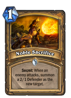 Noble Sacrifice Card Image