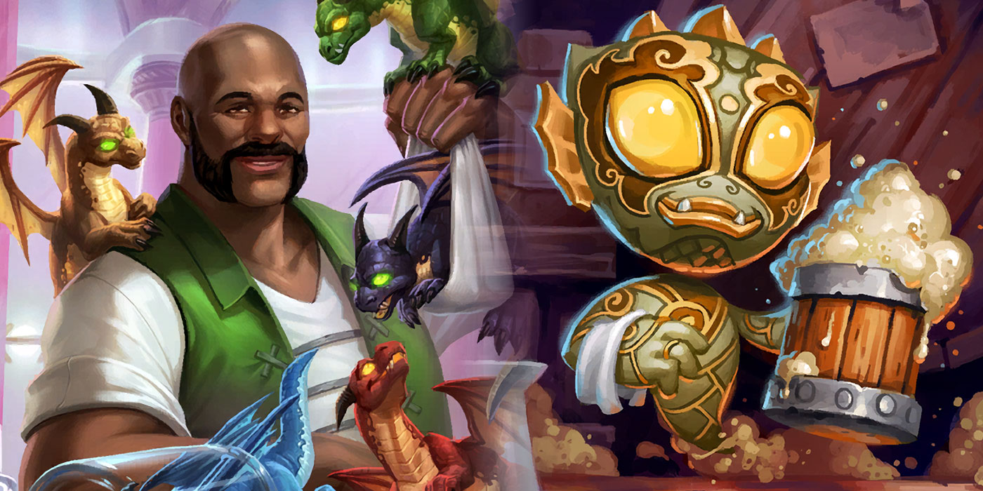 We're Getting 4 New Bartenders in Hearthstone's Battlegrounds Including Ve'nari, Fizzy, and Dragonspeaker Bob