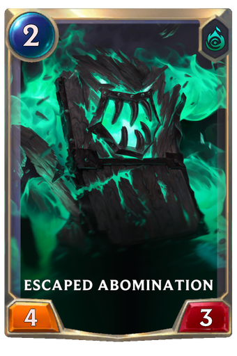 Escaped Abomination Card Image