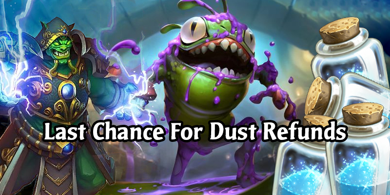 Reminder - Full Dust Refund For Early Nerfs Going Away Soon
